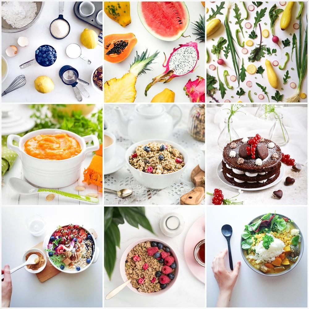 Bright Cuisine Editing Examples