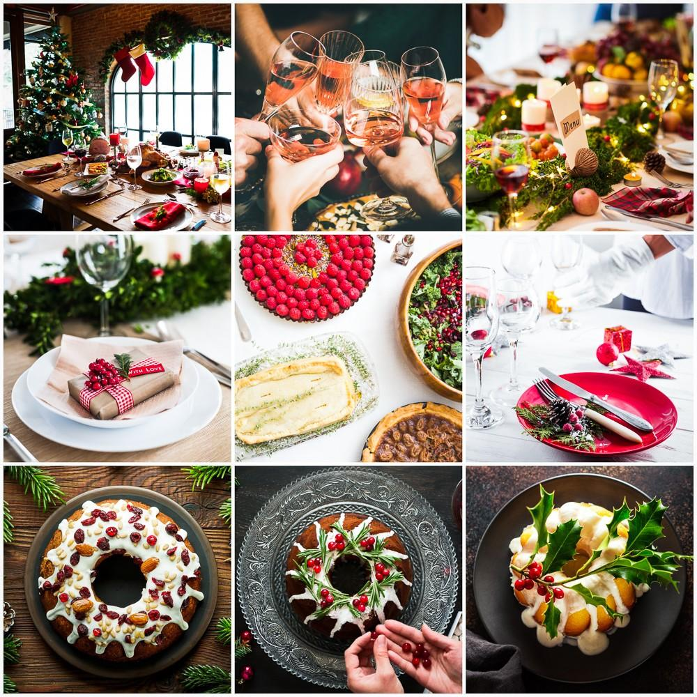 Festive Feast Editing Examples