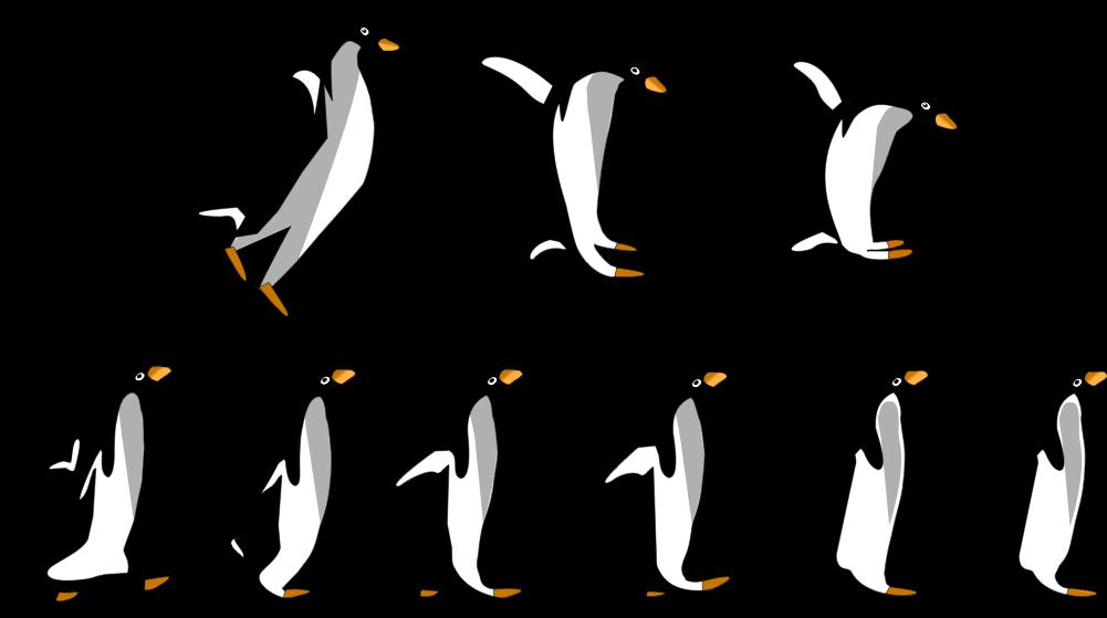 Valentine's Scratch Lesson - Penguins