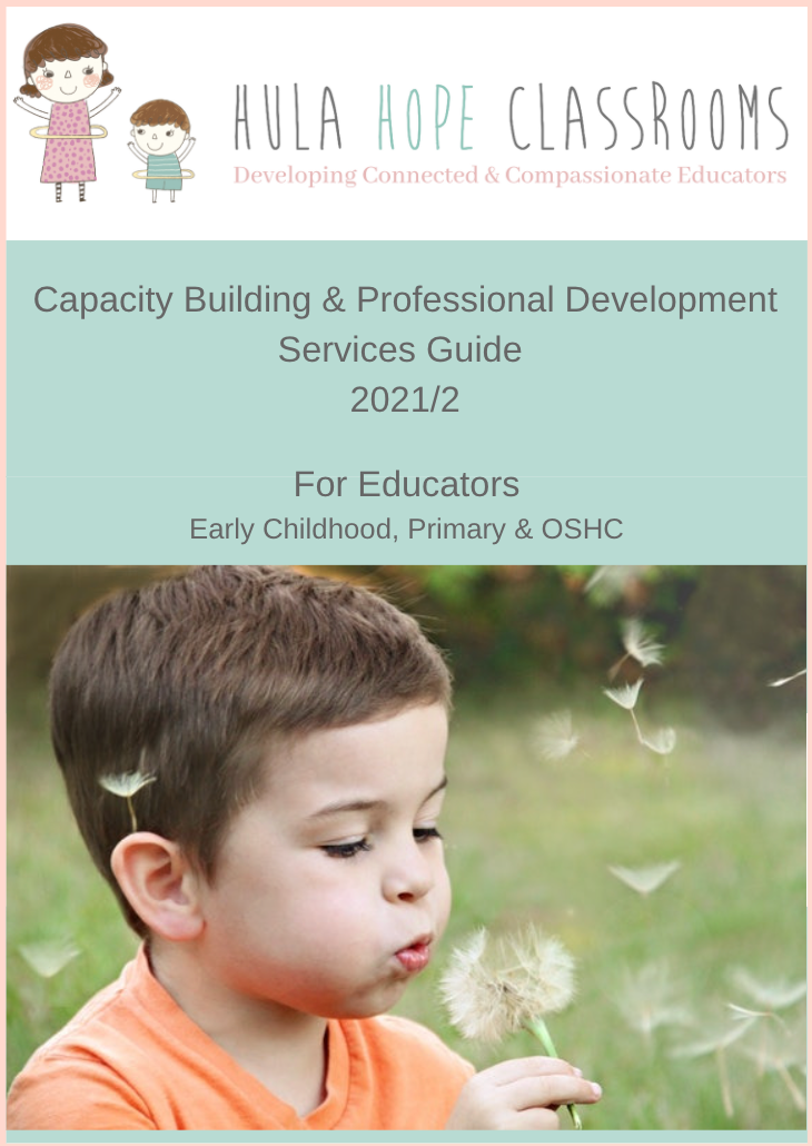 Early Childhood Educator training   Hula Hope Classrooms   Psychologist, Jessica Cleary