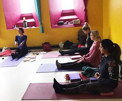 Newborn Baby and Postnatal Yoga Class
