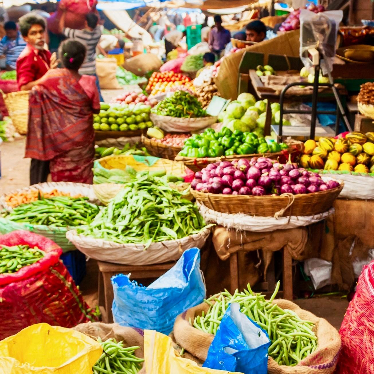 Indian grocery market
