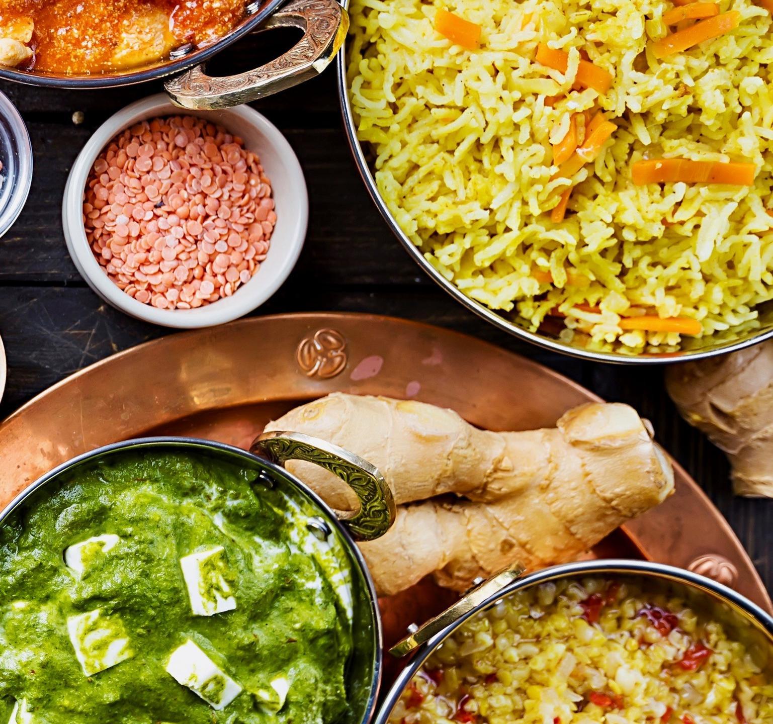 Indian Food assortment