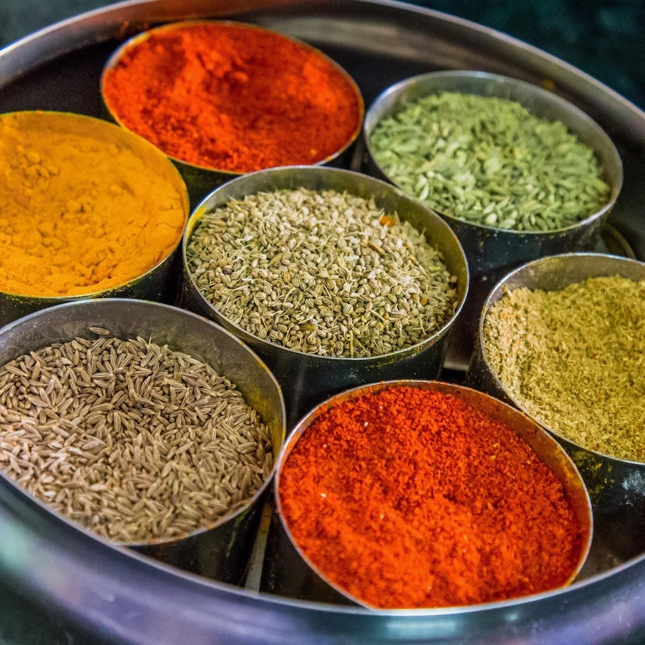 Indian spice tray