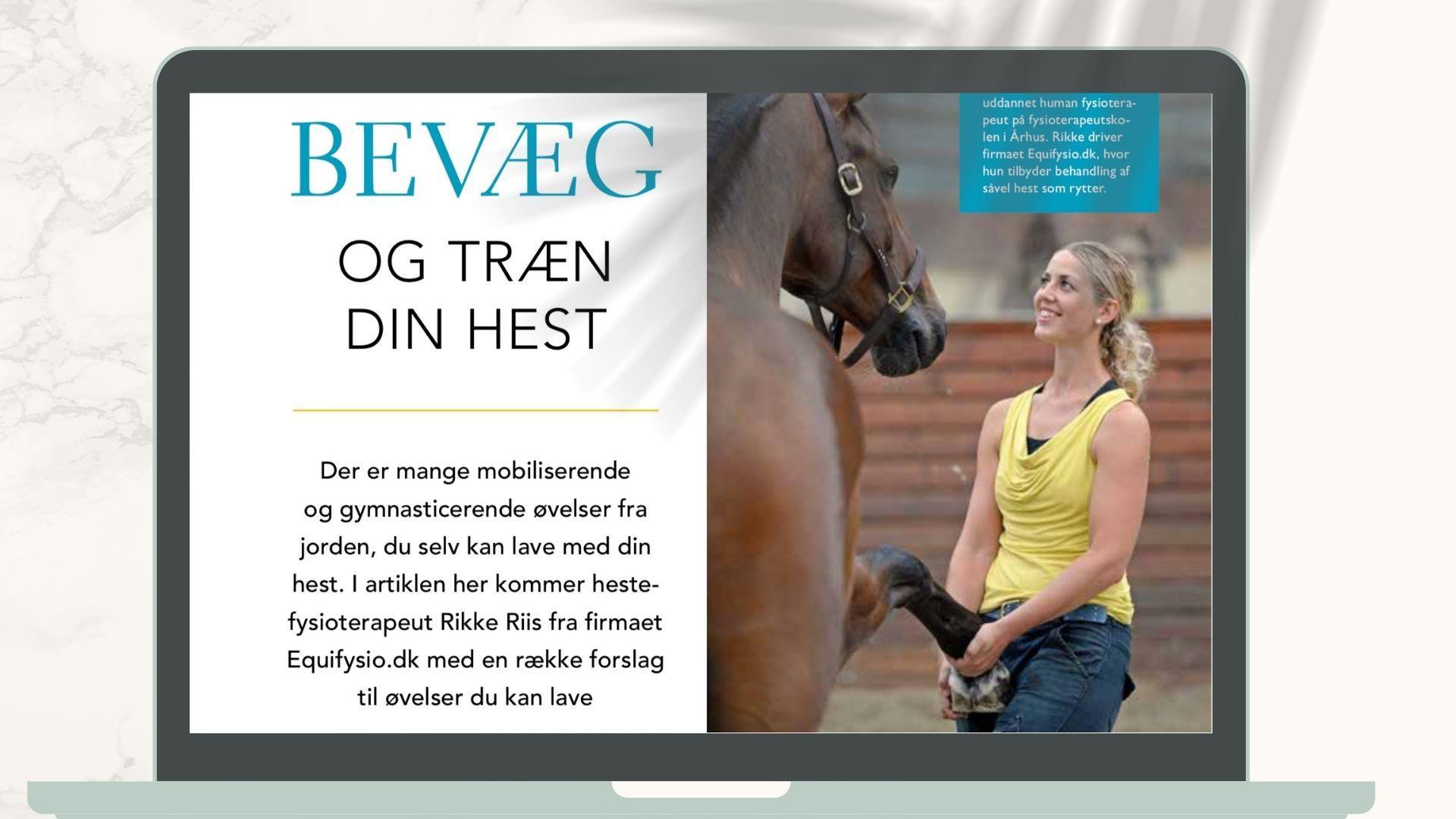 Bevæg og træn din hest