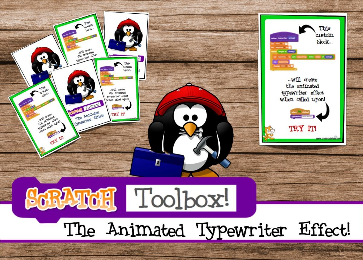 Scratch Lesson The Animated Typewriter Effect