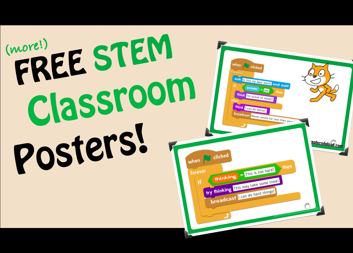 STEM Classroom Posters