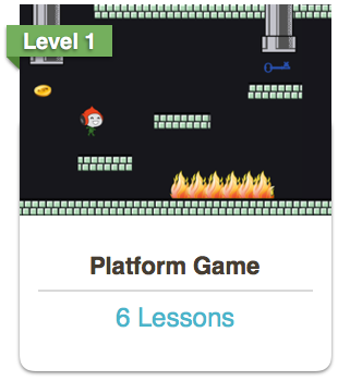 Scratch Platform Game Course