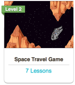 Scratch Space Travel Course