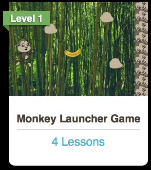 Scratch Monkey Launcher Course