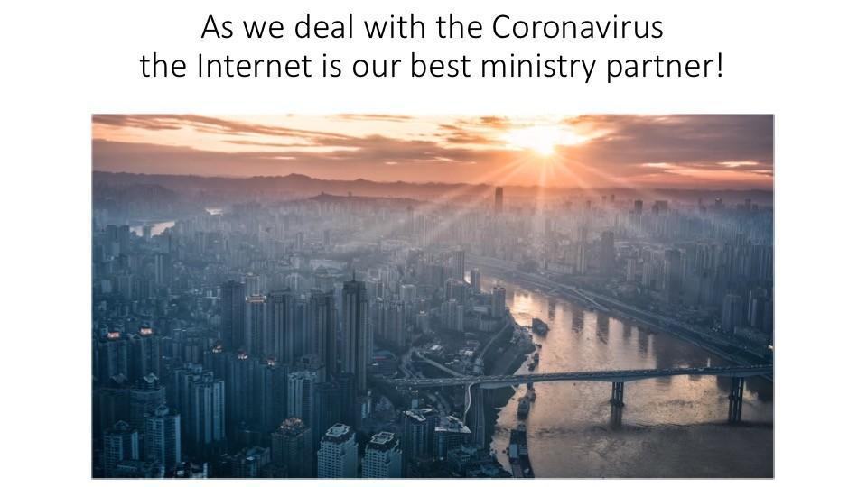 Evangelism, Coronavirus Report