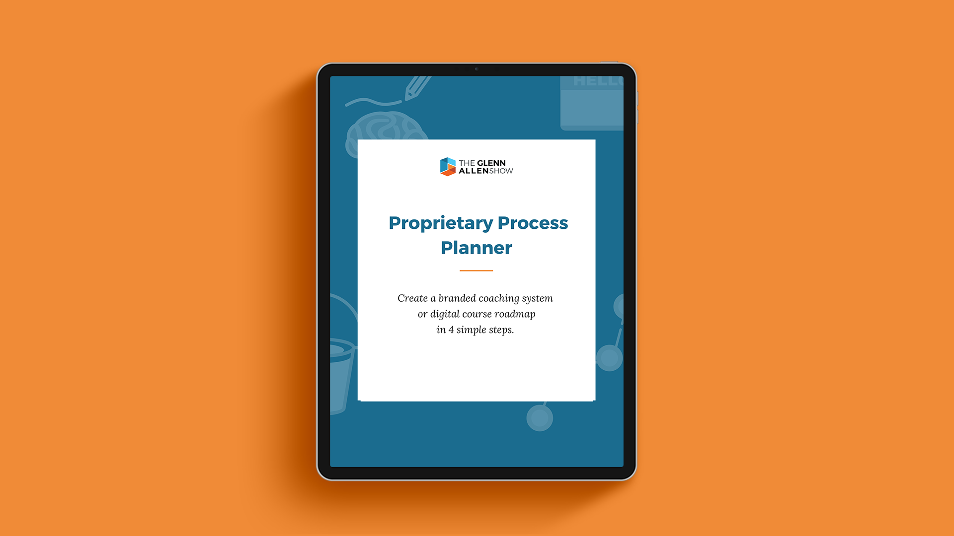 Proprietary Process Planner cover