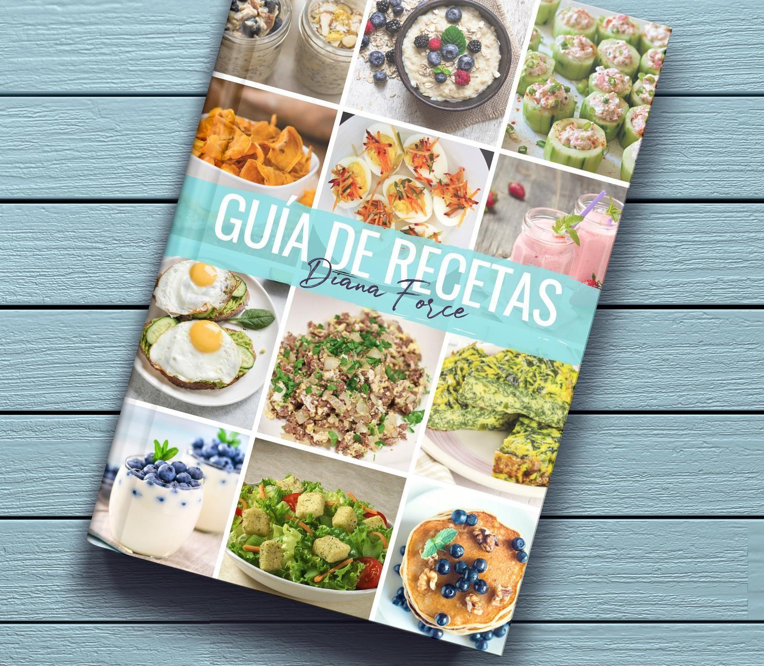 Libro de recetas Diana Force