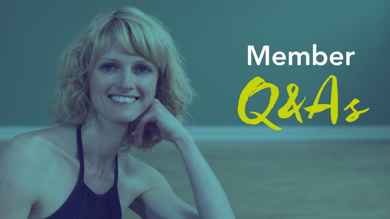 Member Q&As