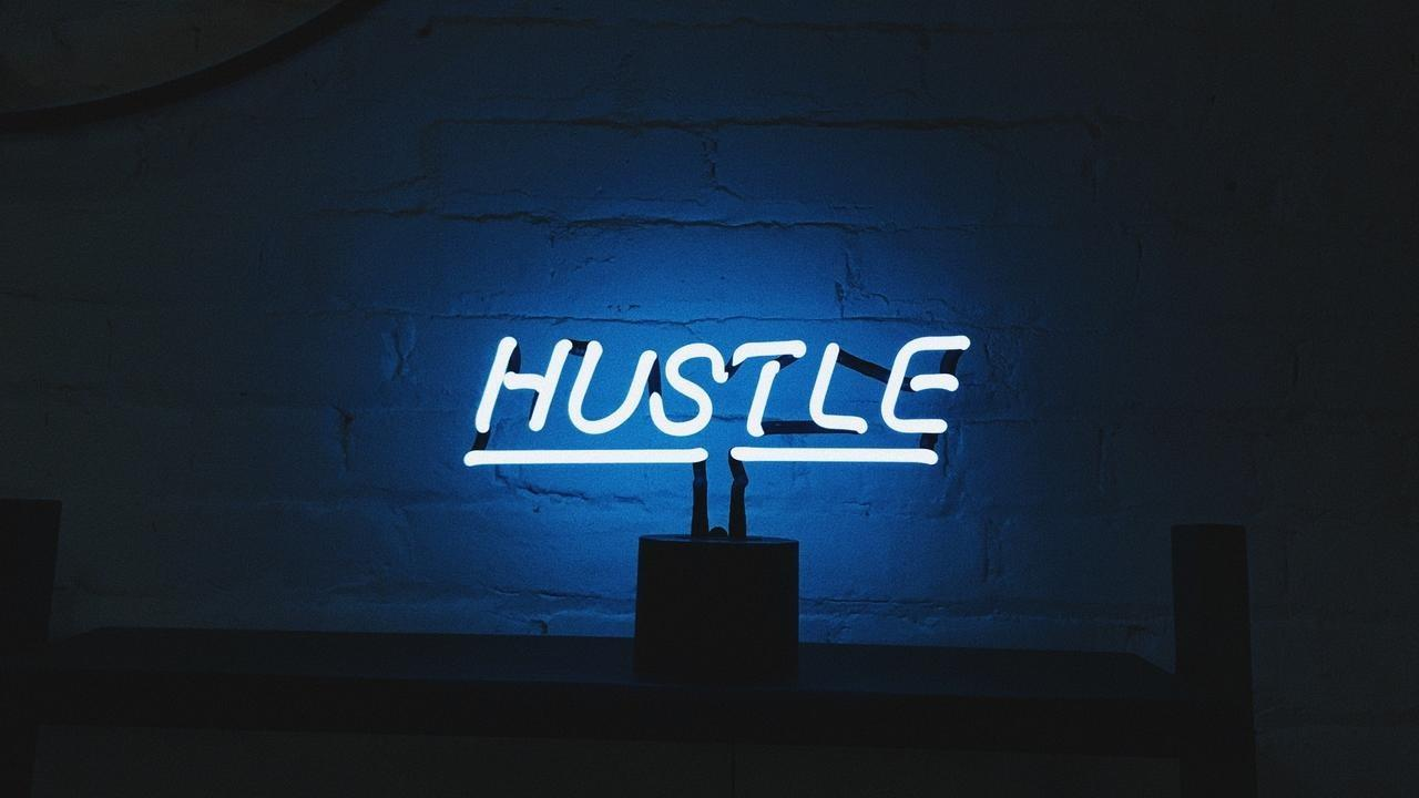 It takes no skill to hustle