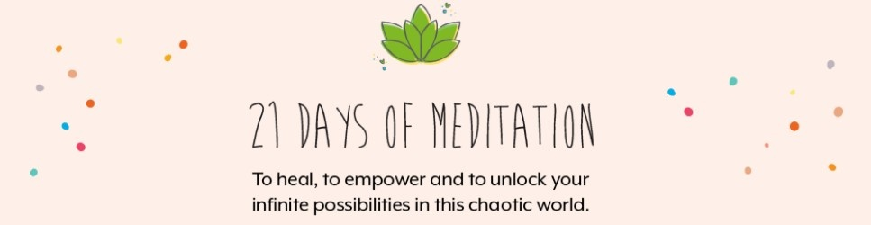 21 Days of Guided Meditation