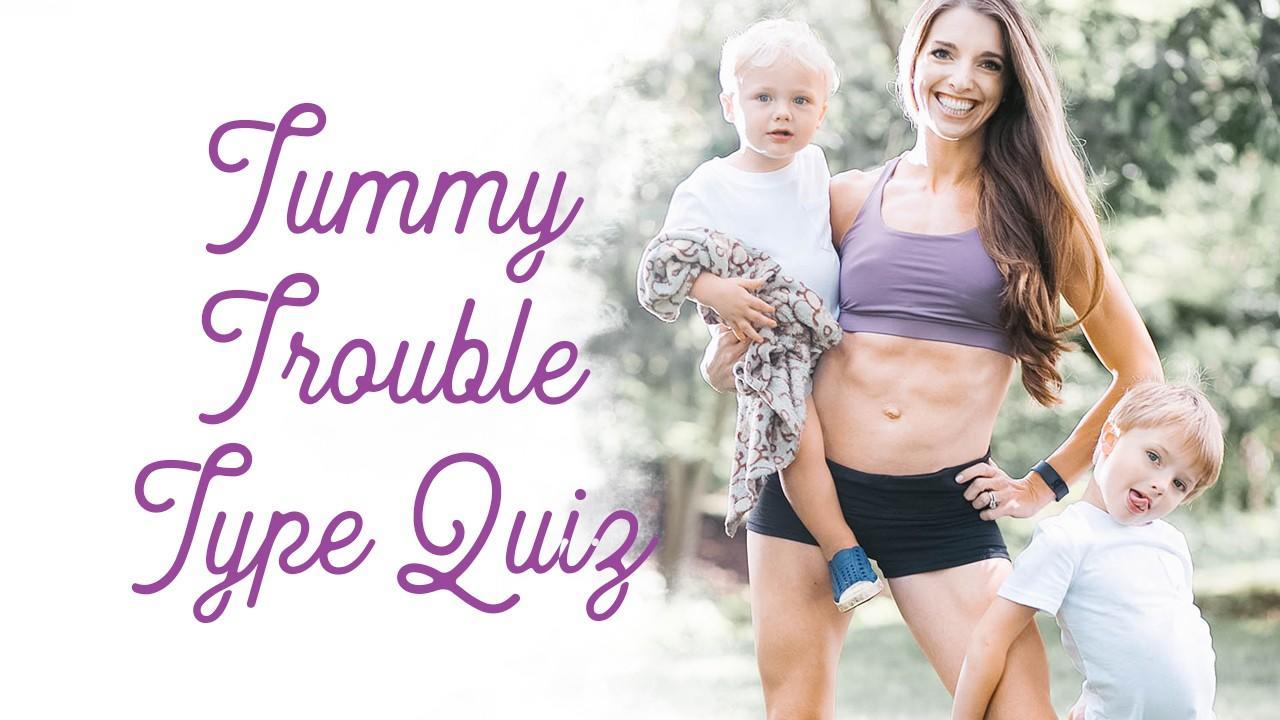 Mom tummy trouble quiz