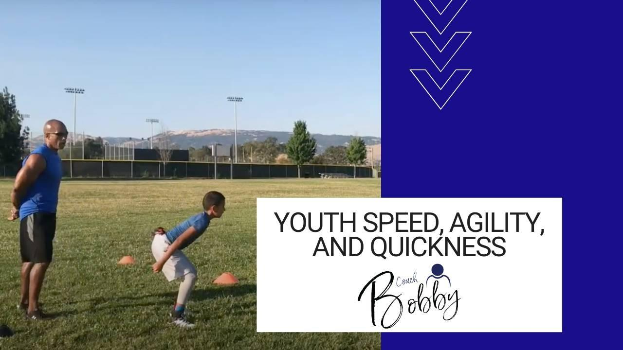 Youth speed, agility, and quickness course