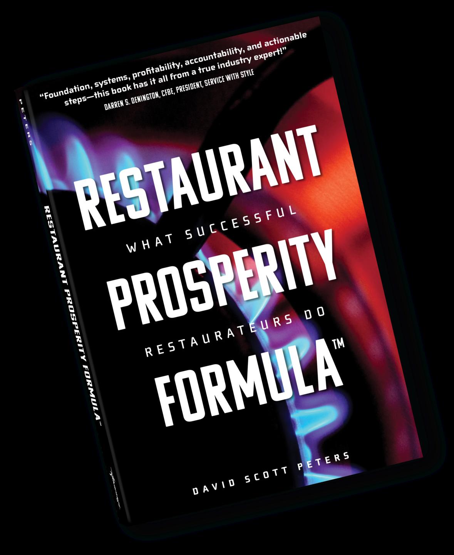 Restaurant Prosperity Formula, David Scott Peters, Restaurant Prosperity Coaching, Food Cost, Labor Cost