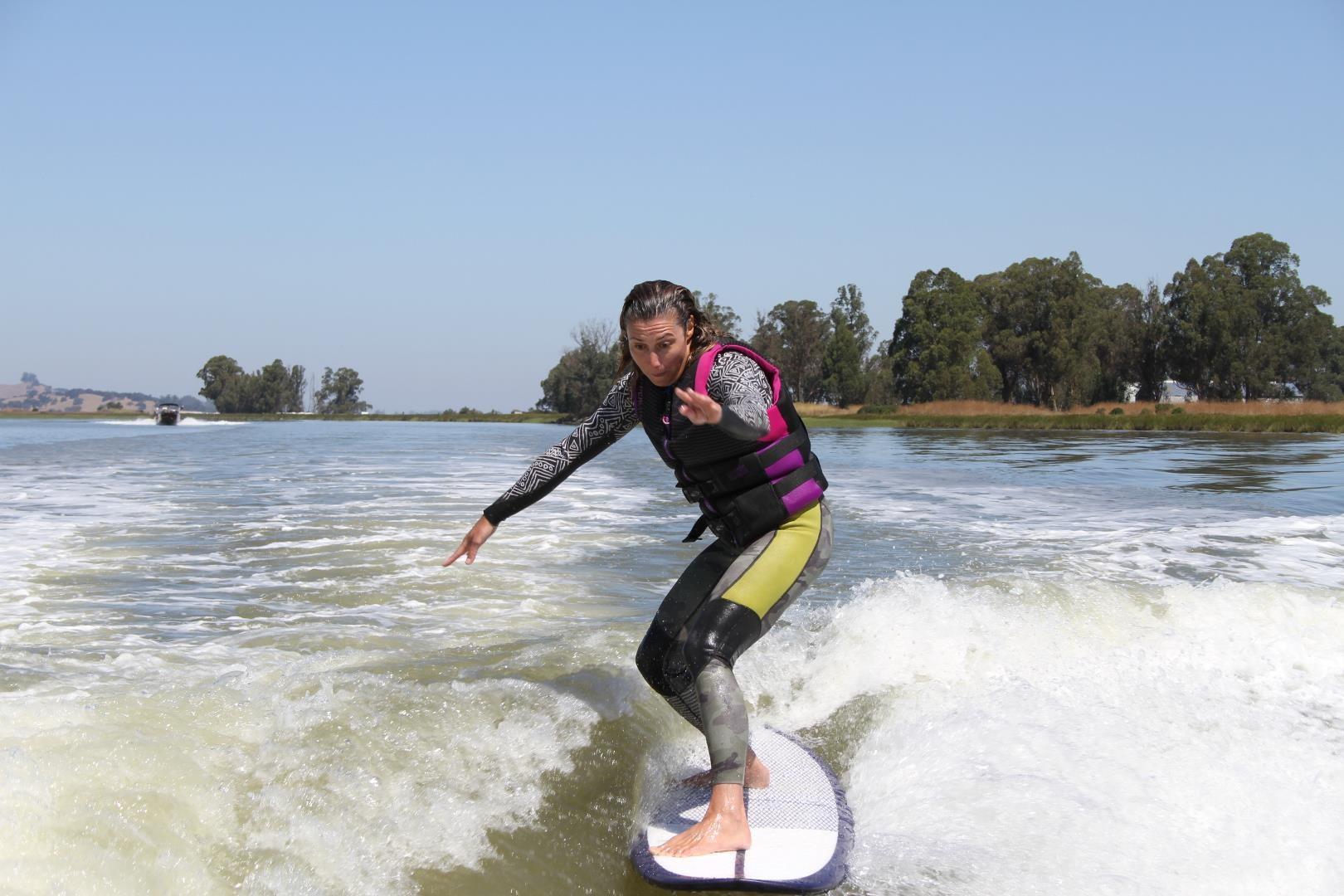 surf technique training going for 5