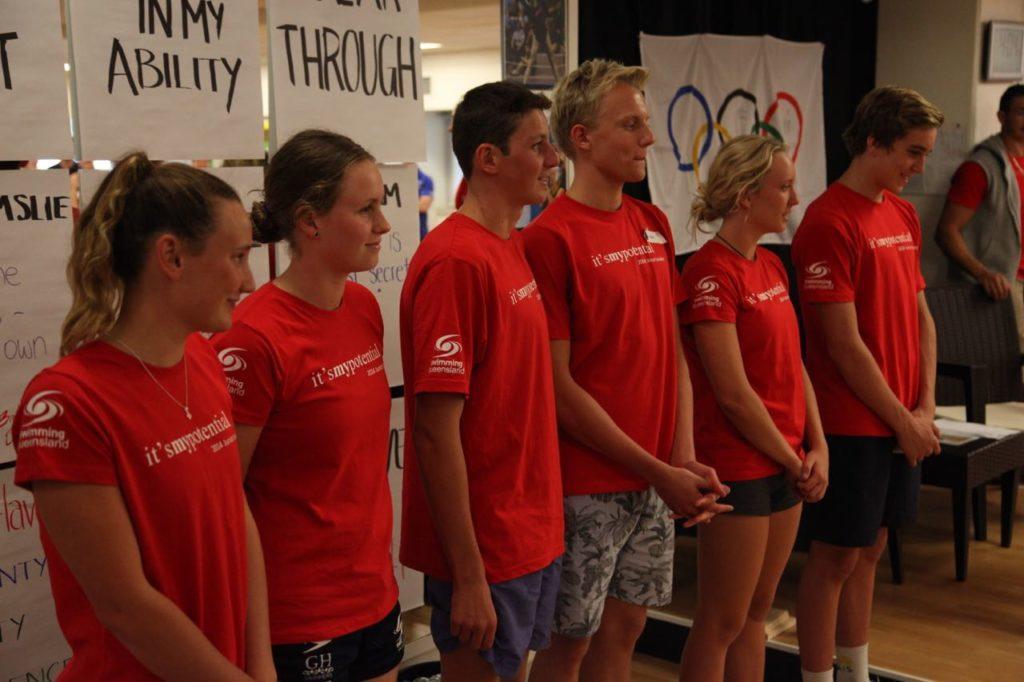 Our athlete leadership team