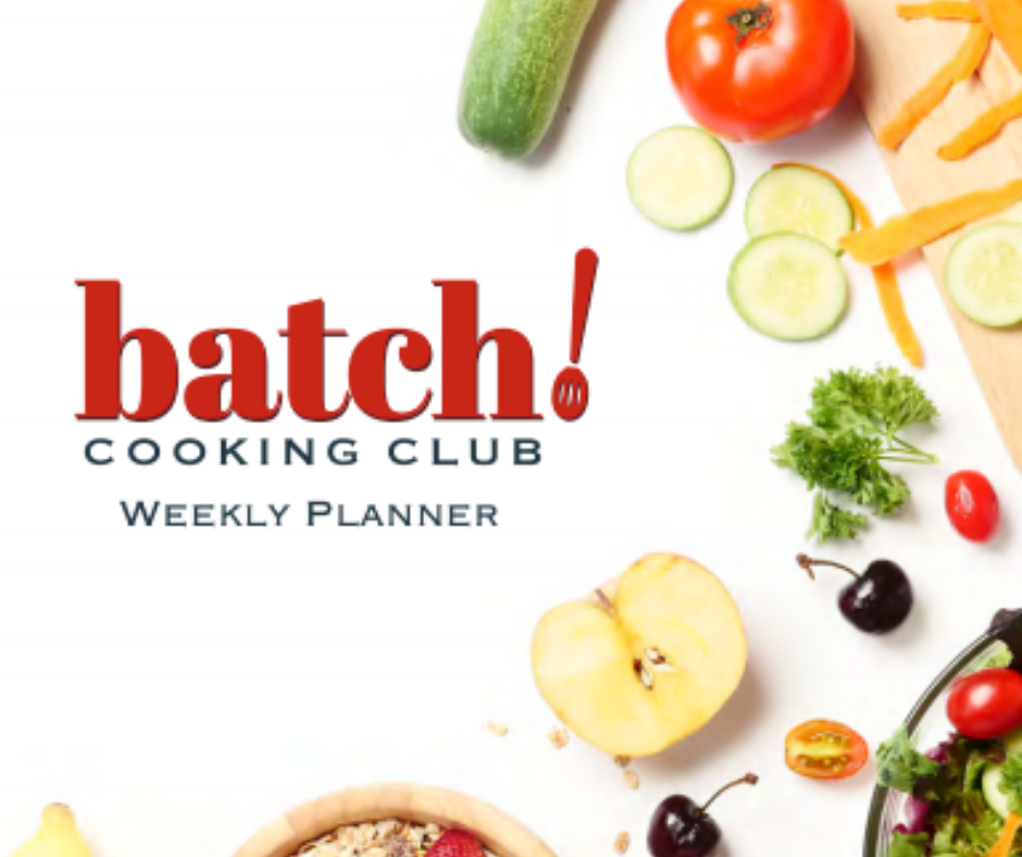 Free Batch Cooking Planner
