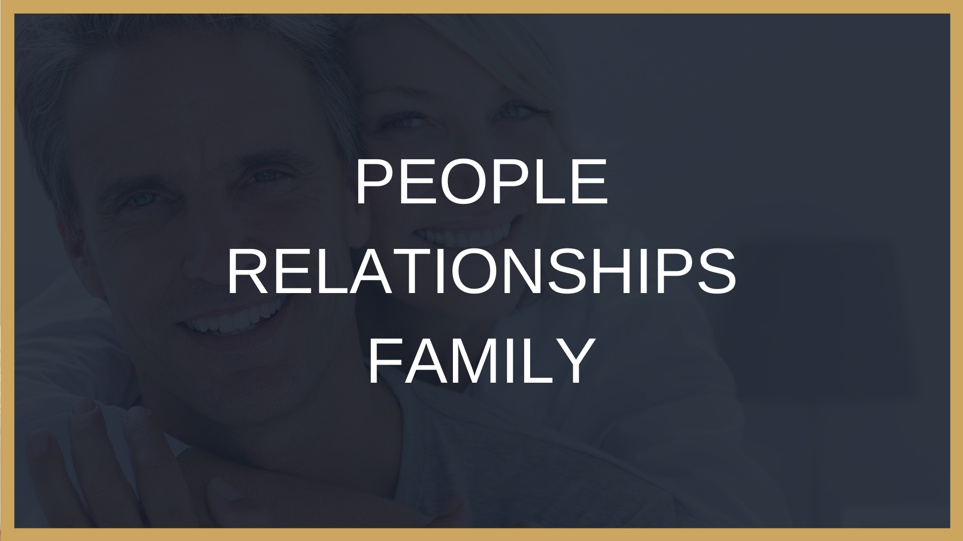 People and Relationships