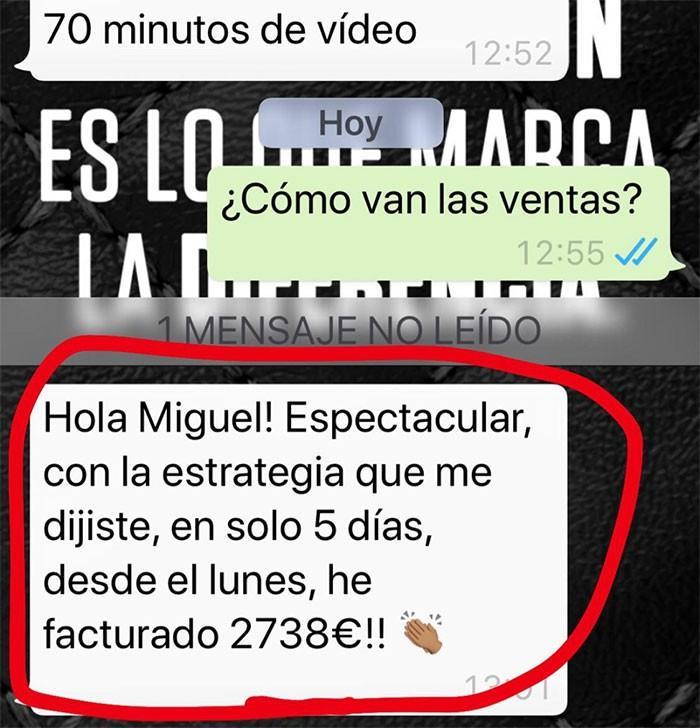 Testimonio Whatsapp 2