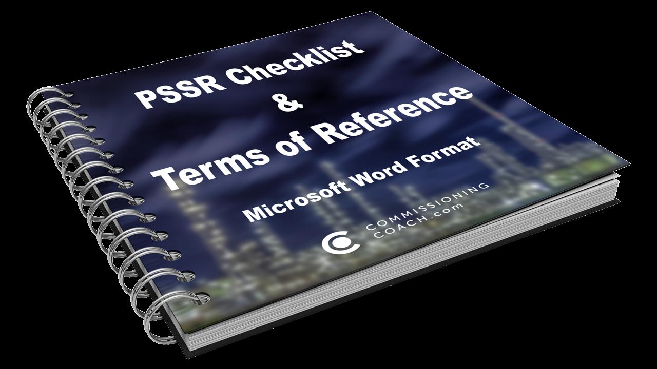 PSSR Checklist - Download it now!