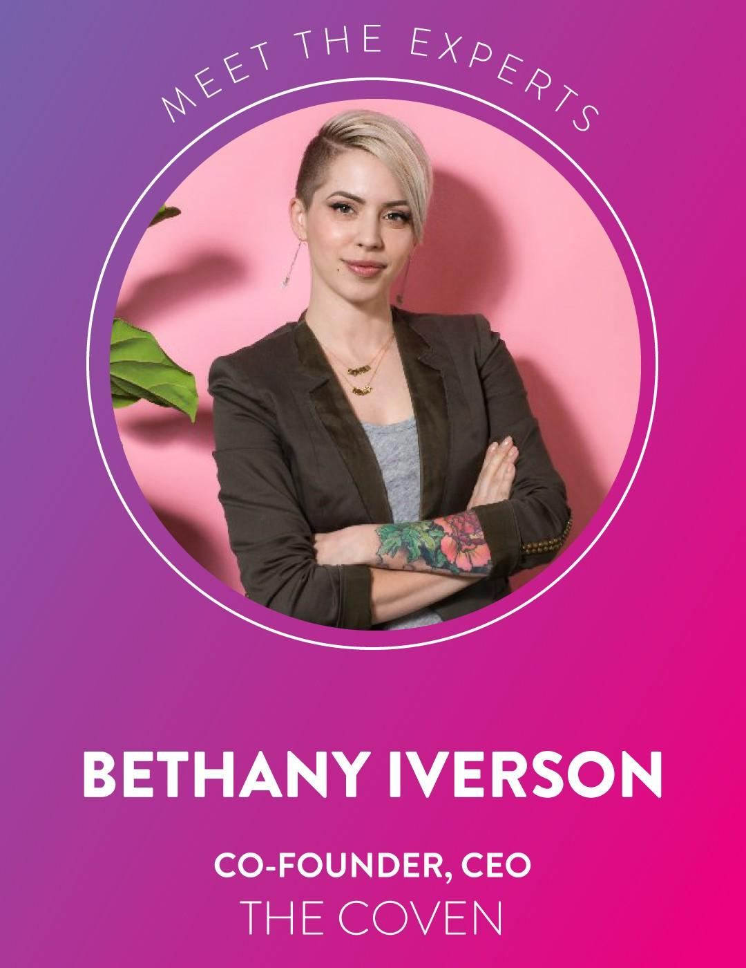Bethany Iverson cofounder The Coven
