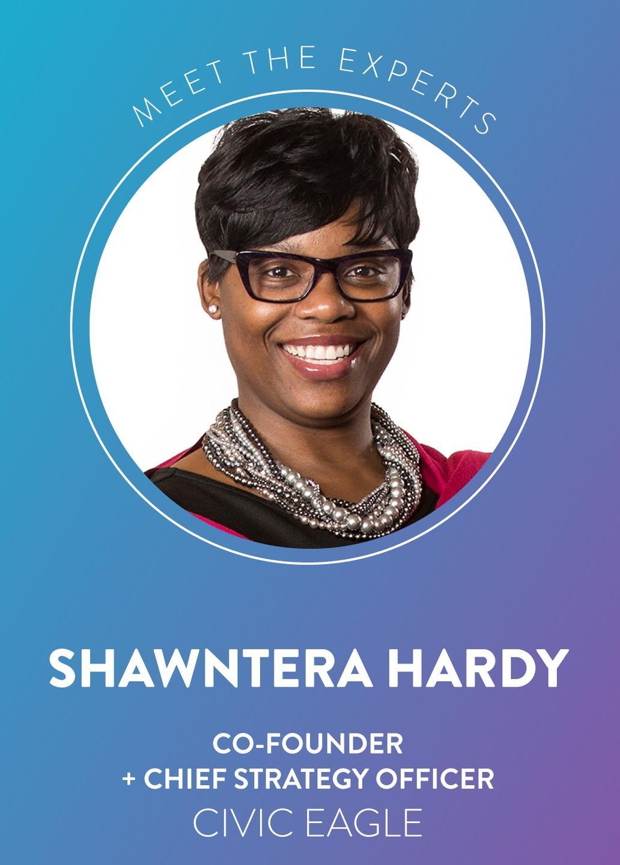 Shawntera Hardy, cofounder CSO Civic Eagle