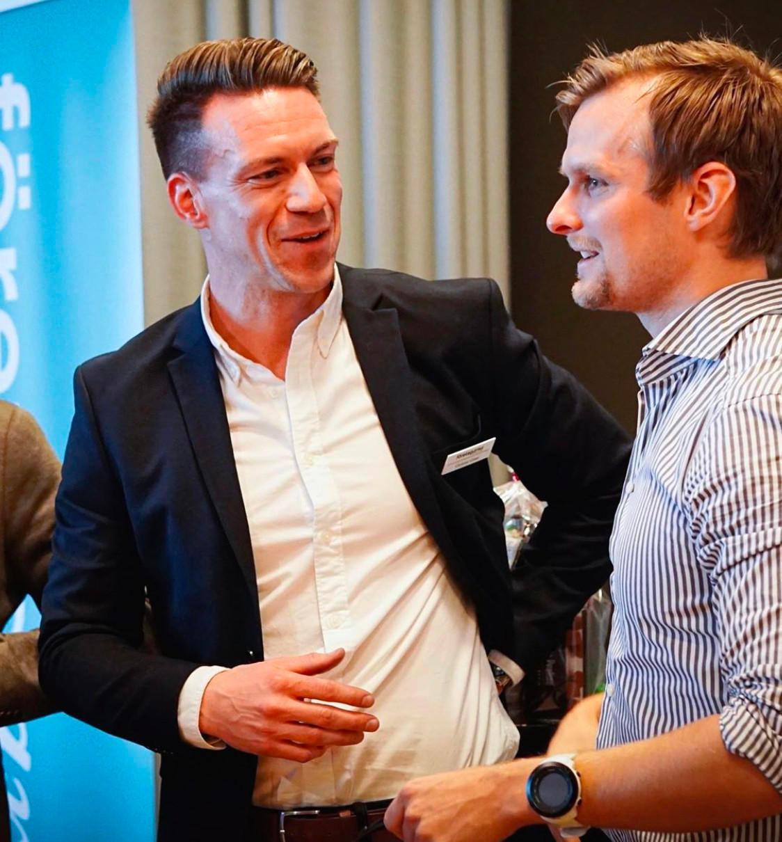Christian Grane, CEO Skövdevillan
