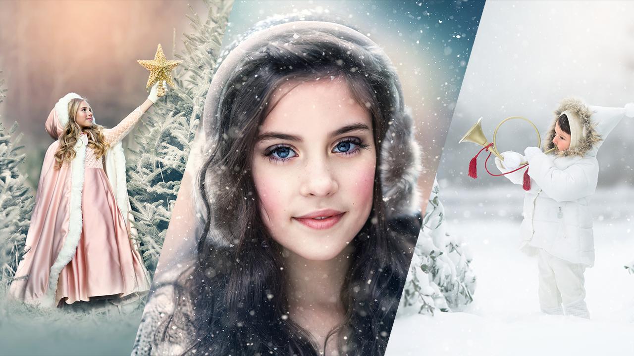 Winter Photoshop Editing Tutorial