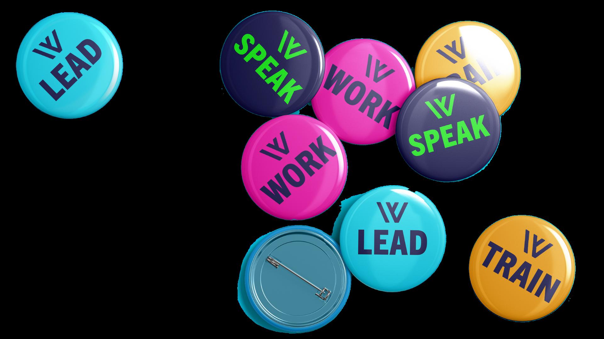 Workplaceless Leadplaceless Trainplaceless course icons