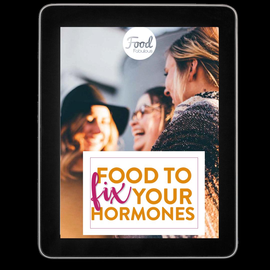Rebalance your hormones with food