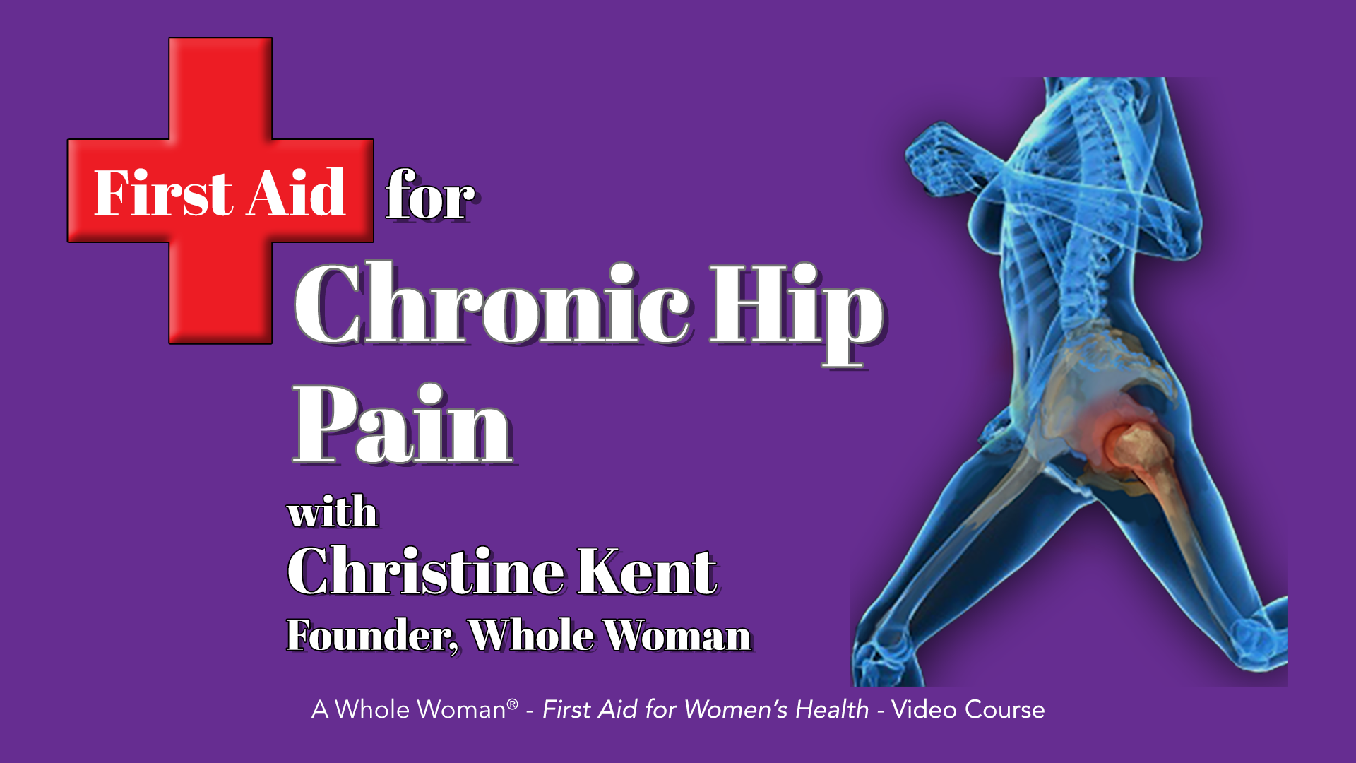 First Aid for Chronic Hip Pain