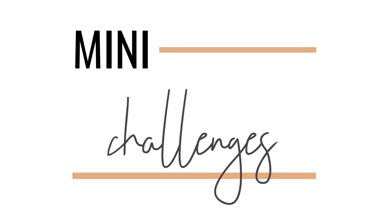 Mini Challenges