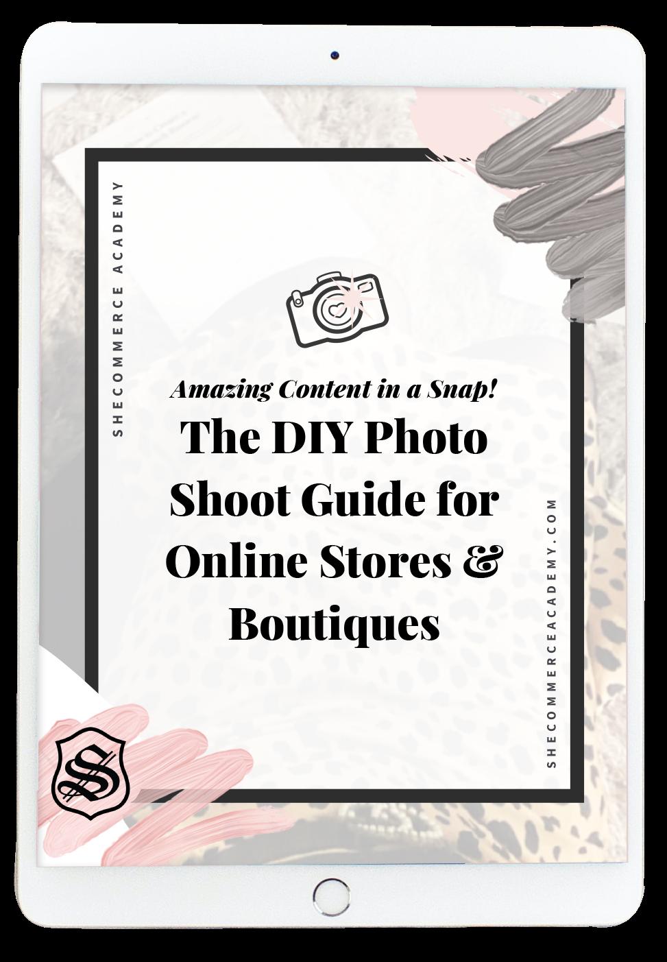 DIY Photo Shoot Guide