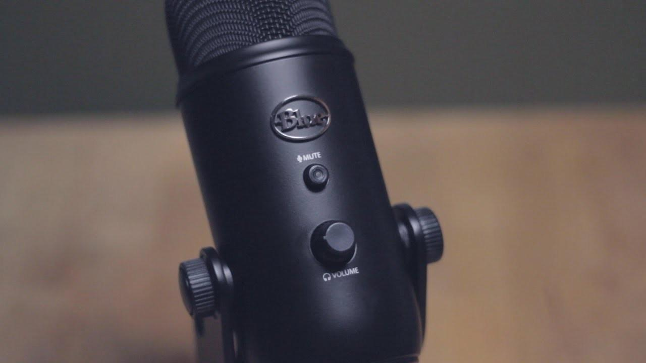 Buy the Blue Yeti Microphone