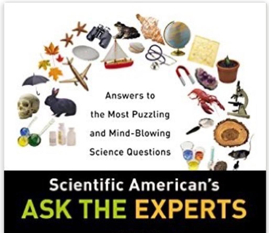 Ask the Experts book cover