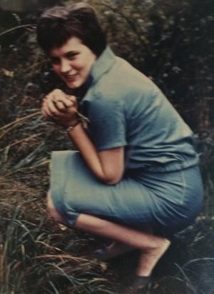 1960: Ursula Dehn My cute mom, before me I assume.