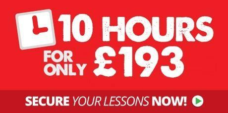 10 Hours Driving Lessons Deal
