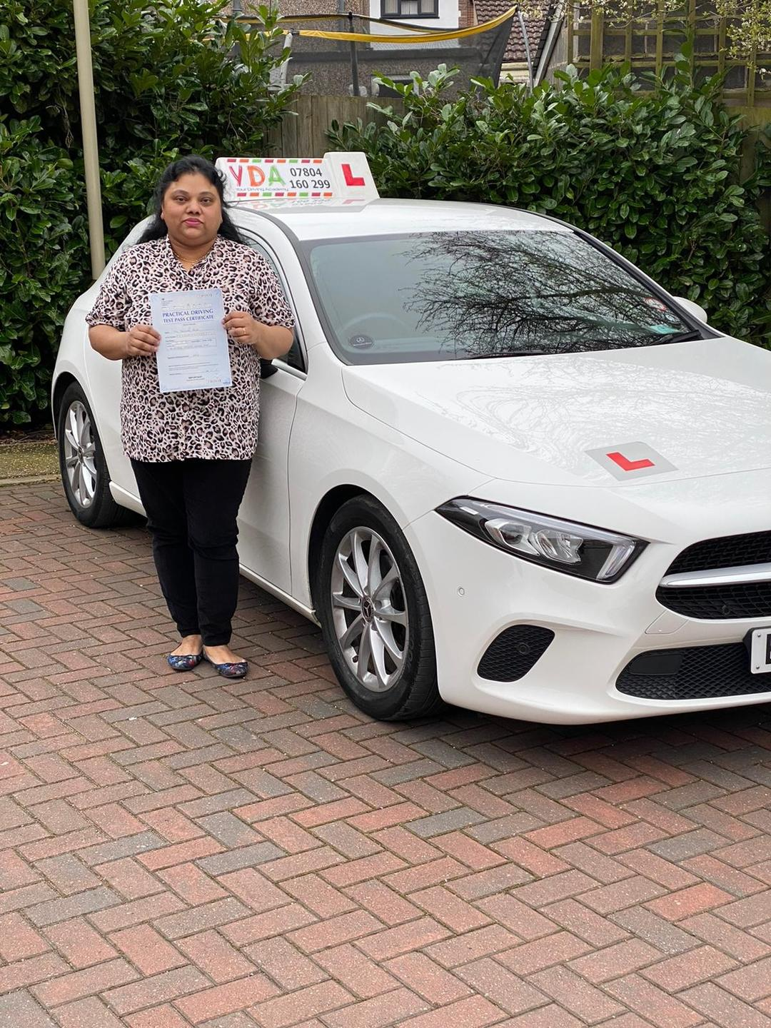 Leicester Driving Lessons - Beulah Passam
