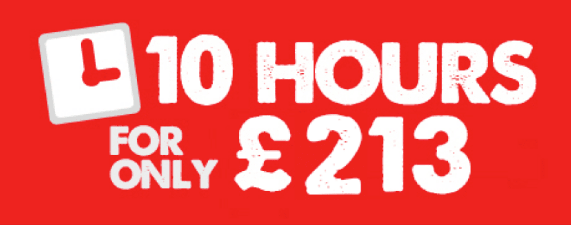 10 Hour Driving Lessons Deal Leicester