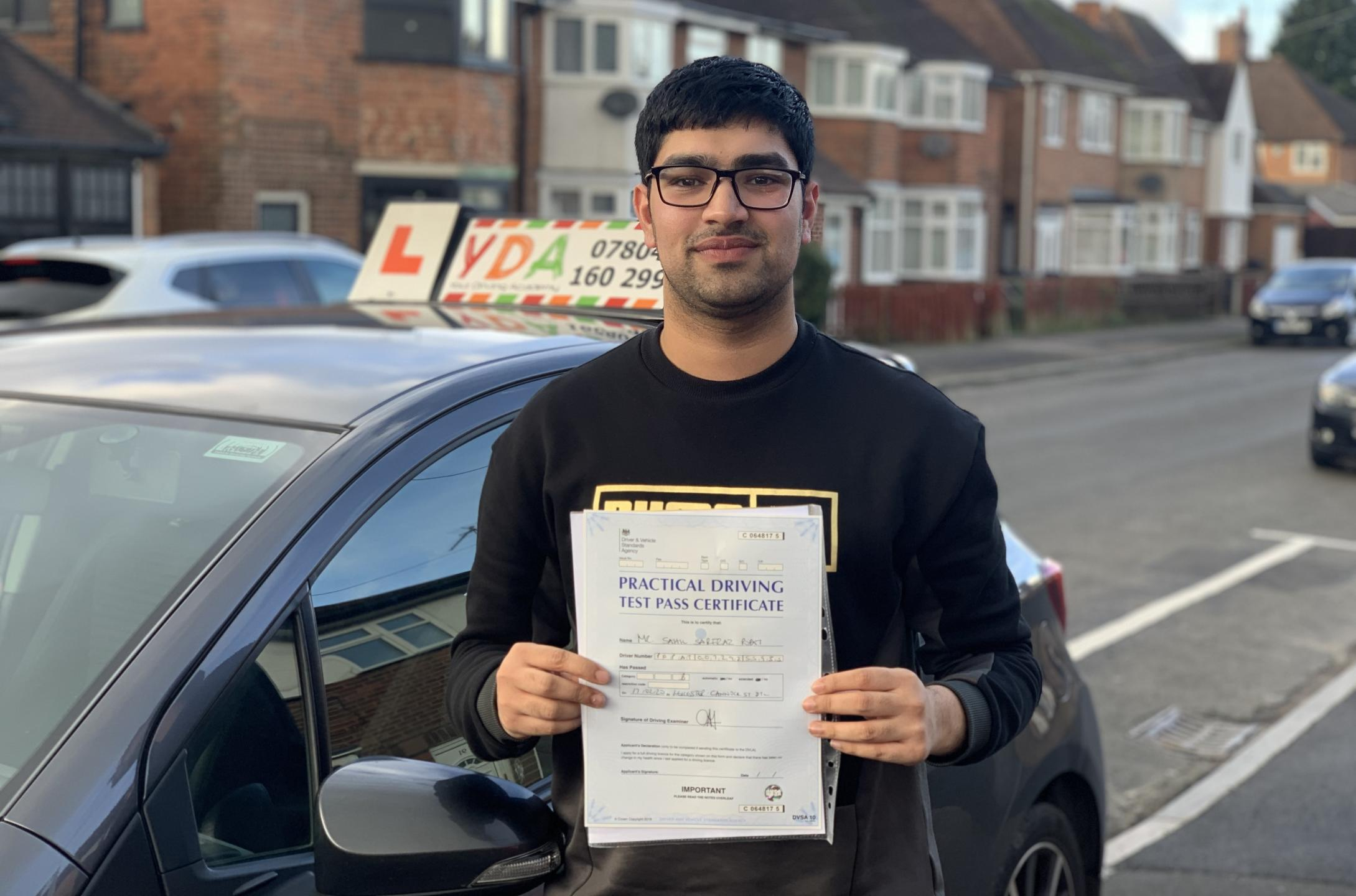 Driving Lessons Leicester - Sahil Popat