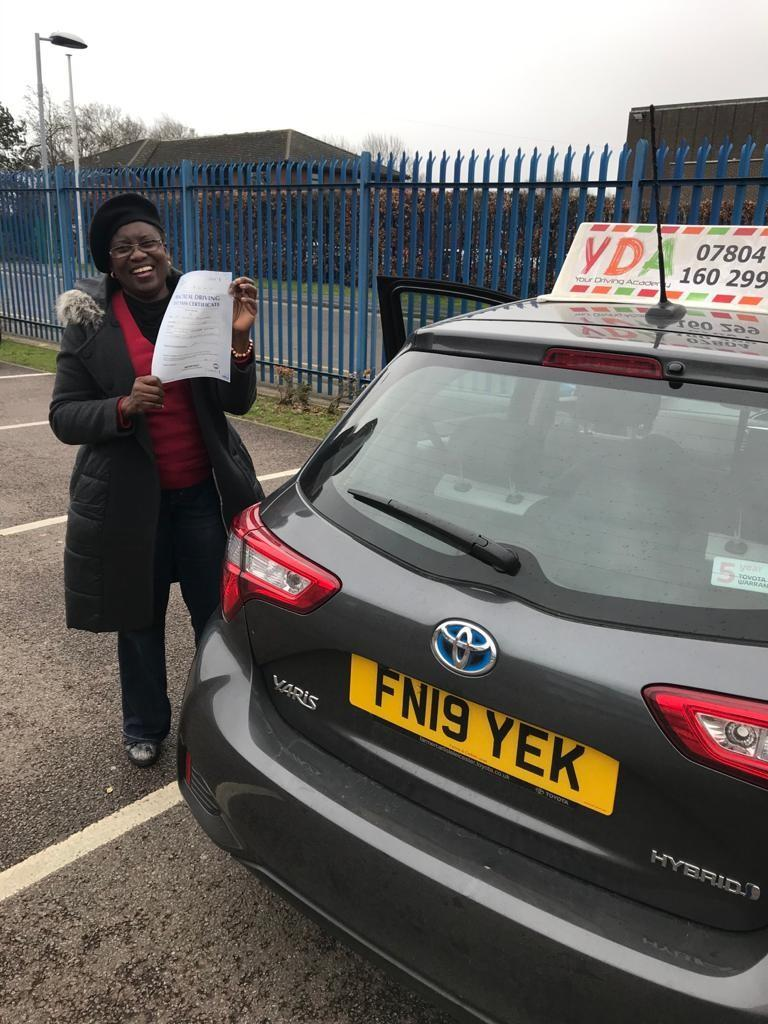 Automatic Driving Schools Leicester - Toyin