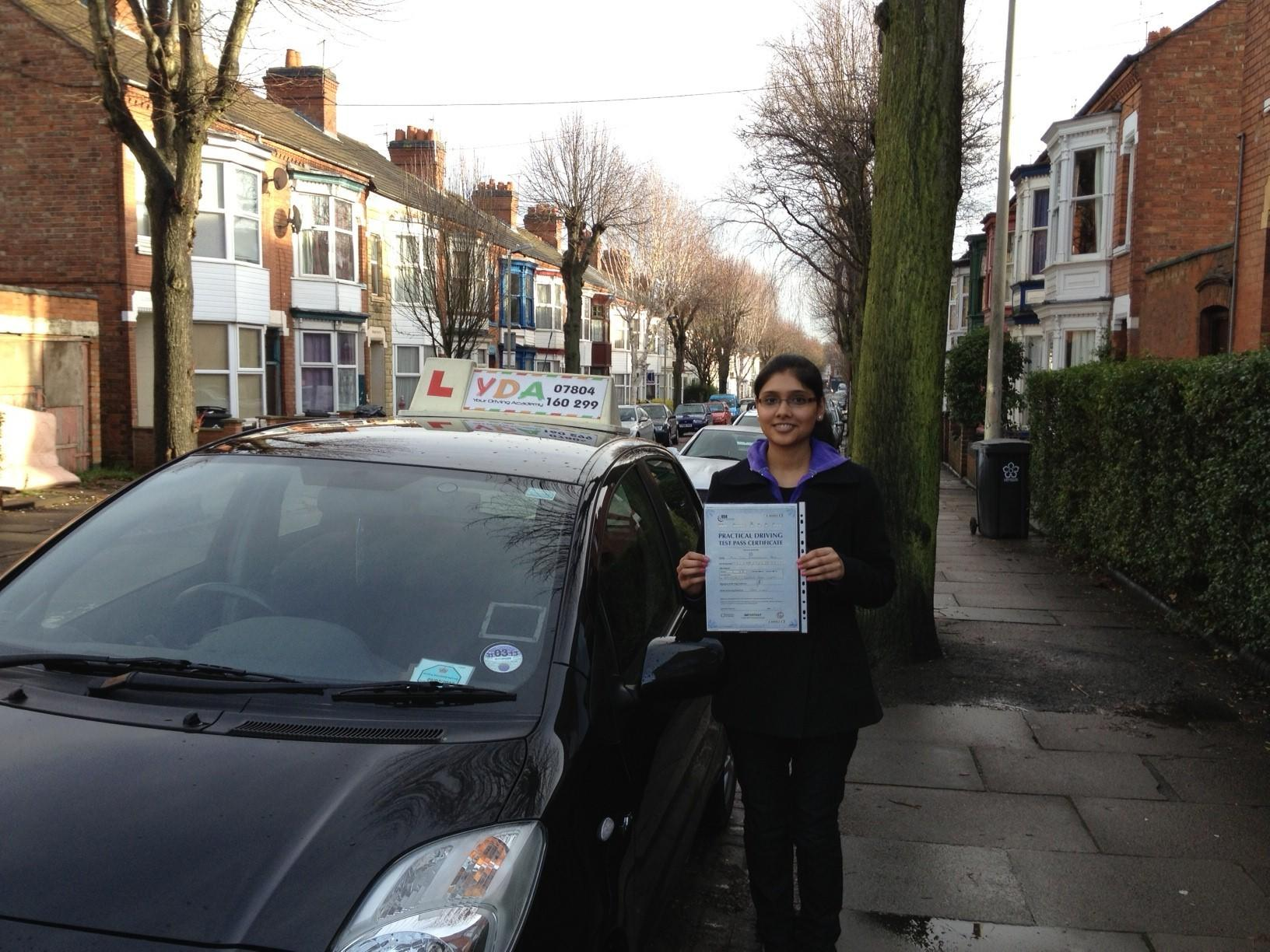 Driving Lessons Leicester - Tulsi Pala