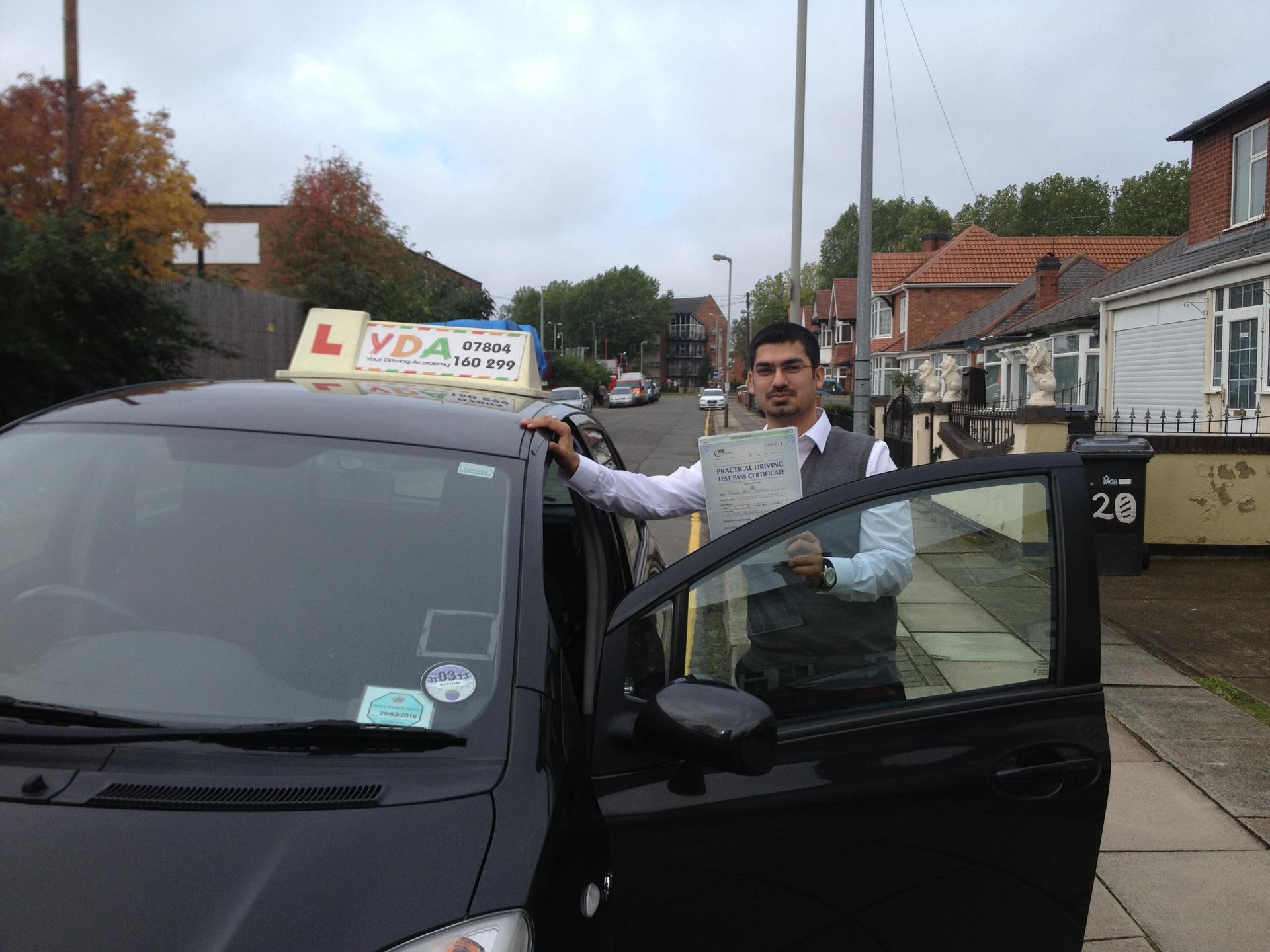Driving Lessons Leicester - Jawad Jaffar