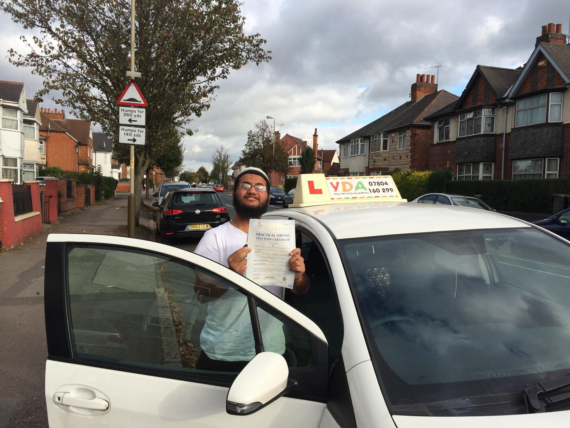 Driving Instructors Leicester - Mohsin Nathalia