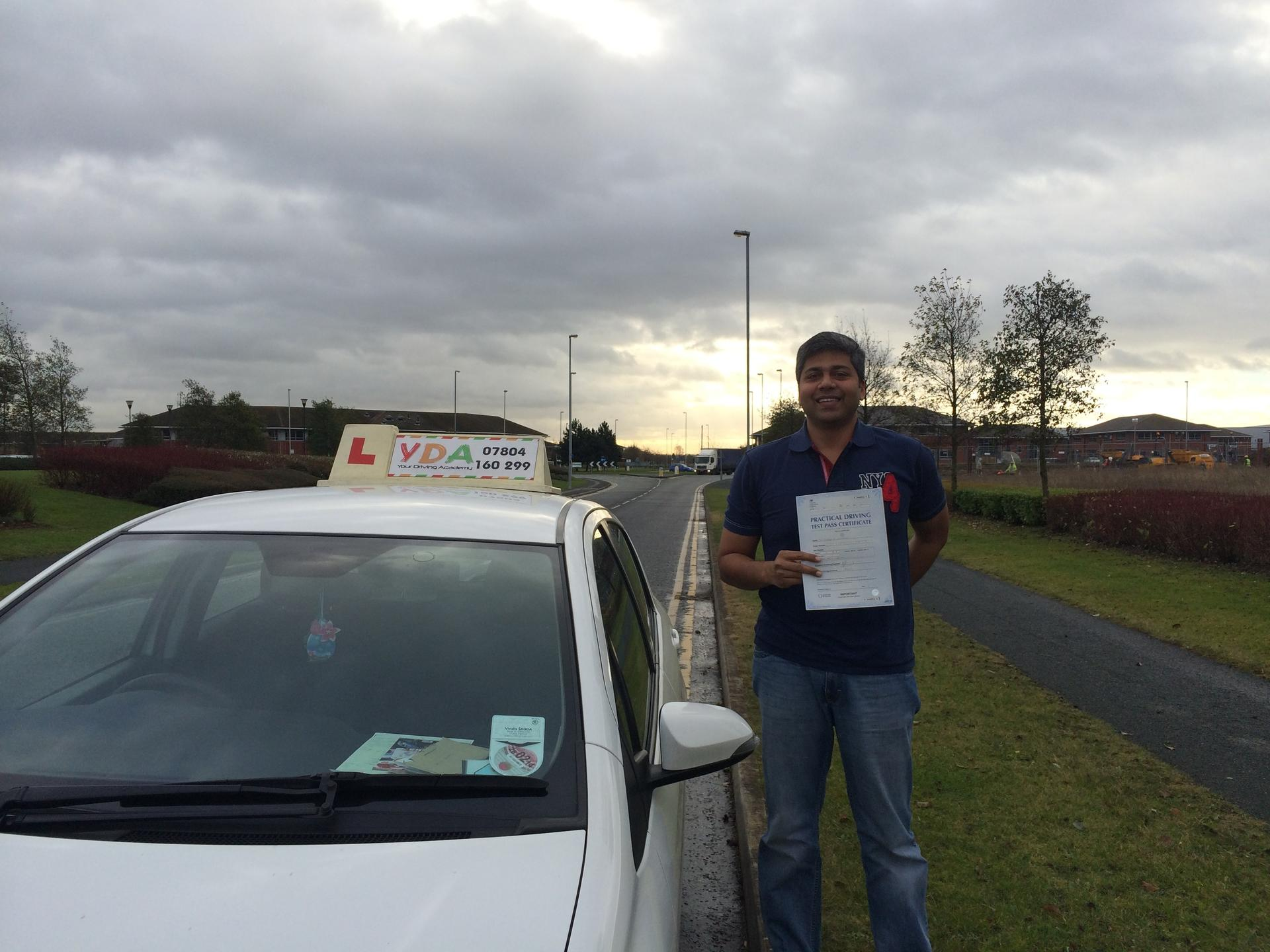 Driving Instructors Leicester - Prashant